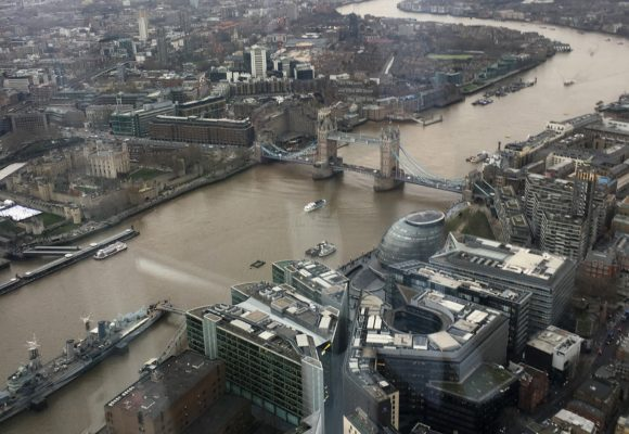 Eating Out: The View from The Shard with 3 Course Michelin Dining and Bubbles for Two