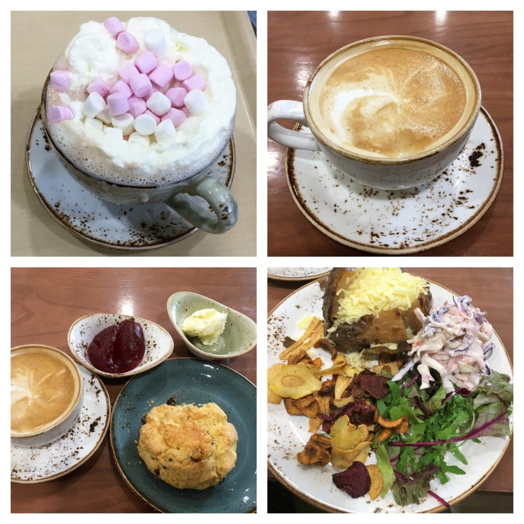 glutenfree, gluten free, garden centre, cotswolds, scone, eating out, coffee, jacket potato