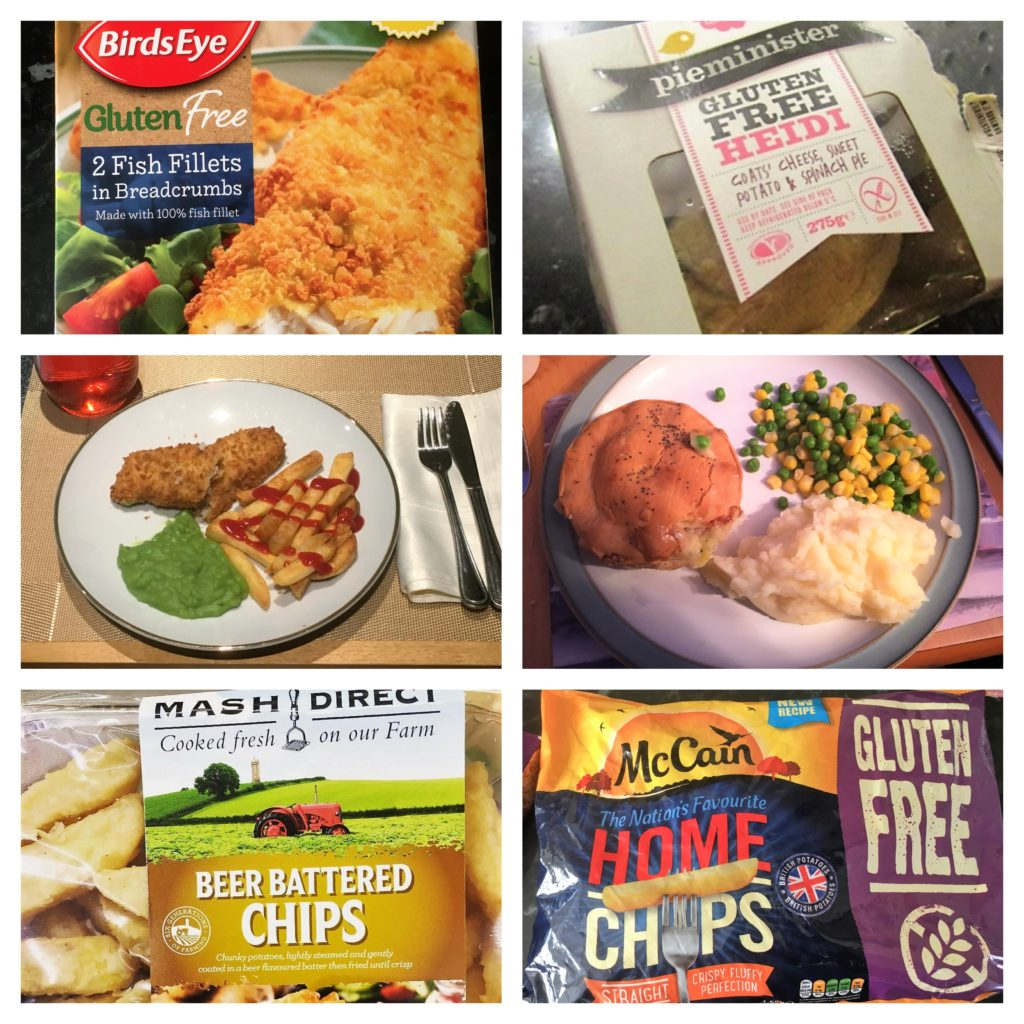 coeliac, livingcoeliac, glutenfree, gluten free, chippy options, fish, chips, pie