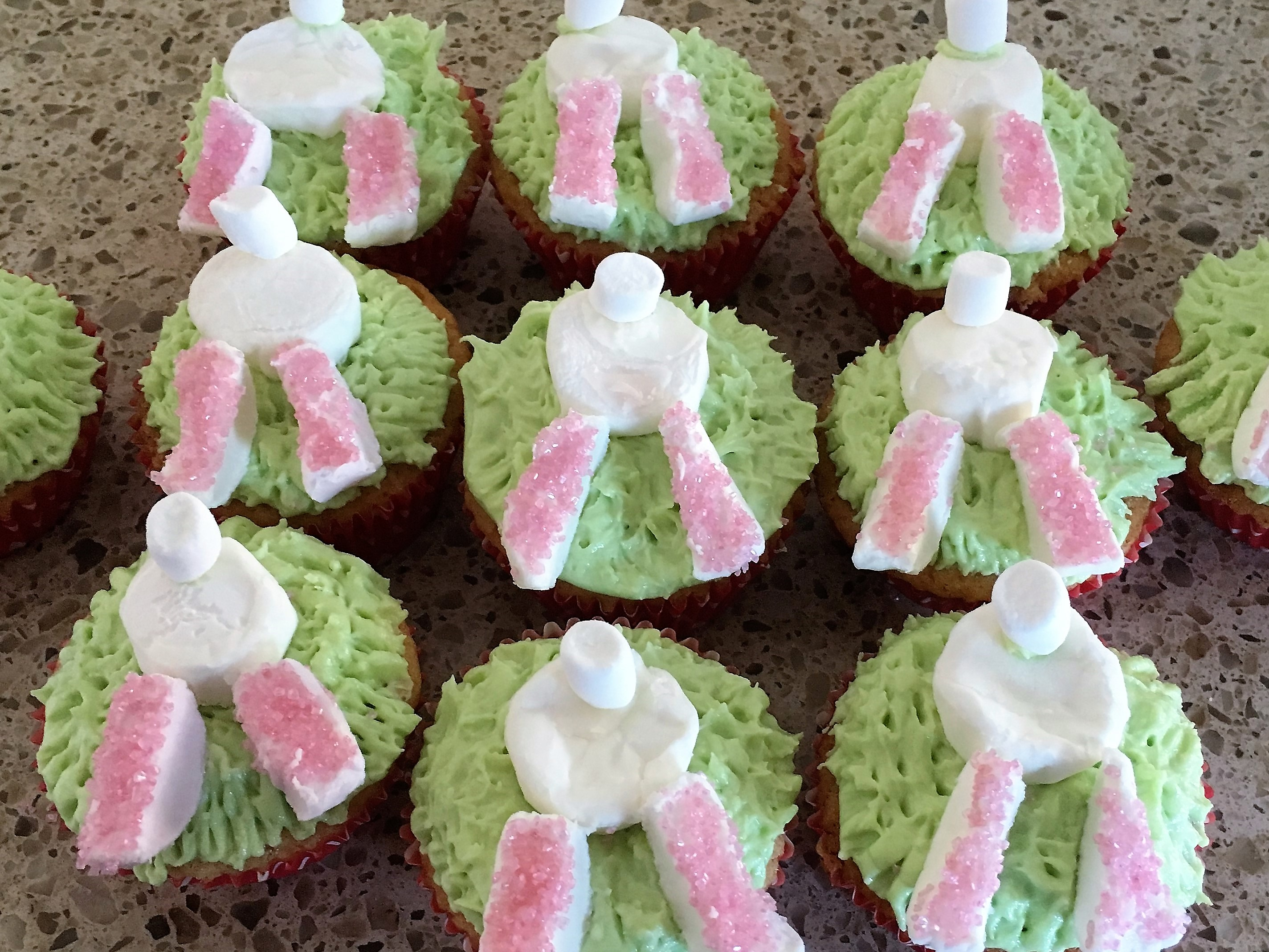 How to Make: gluten free Easter Bunny Cupcakes