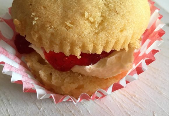 How to Make: gluten free Mini Jam and Cream Sponge Cakes