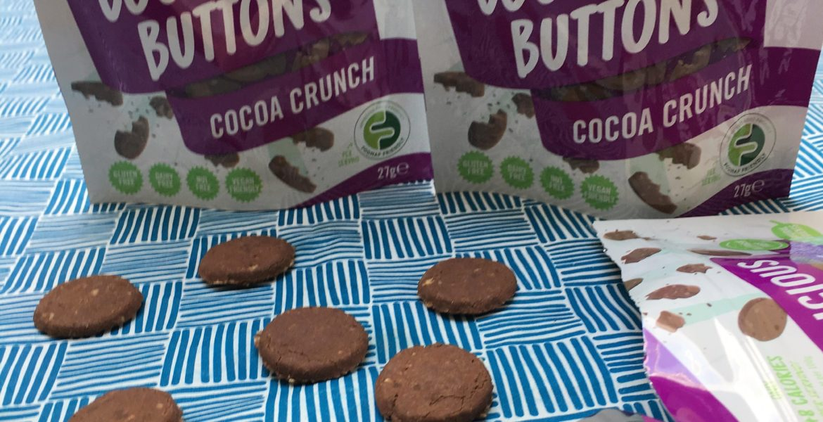Trying the Fodilicious Cookie Buttons – a gluten free review