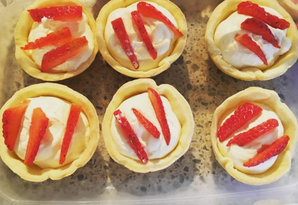 How to Make: Gluten free Strawberry and Cream Tarts