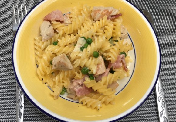 My Gluten Free Turkey and Leek Pasta Bake Recipe