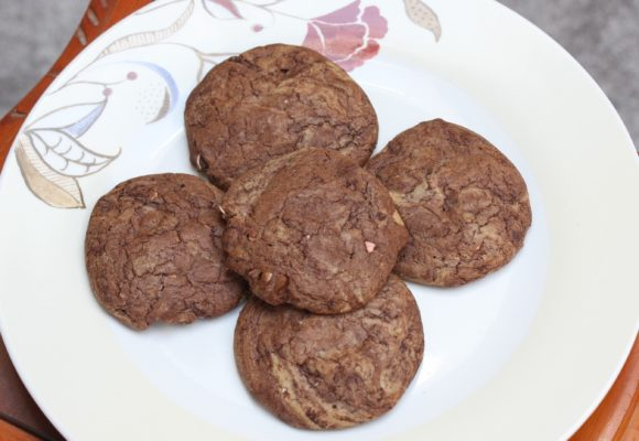 My Gluten Free Double Chocolate Mini-Egg Cookie Recipe