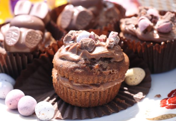My Gluten Free, Dairy Free Chocolate Banana Muffin Recipe