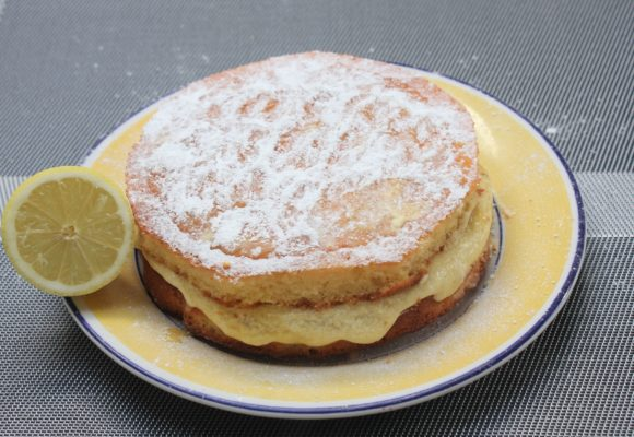 My Gluten Free, Dairy Free Lemon Cake Recipe