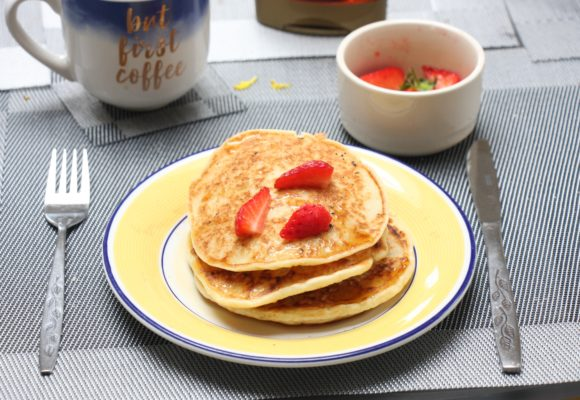 My Simple Gluten Free, Dairy Free American Style Pancake Recipe