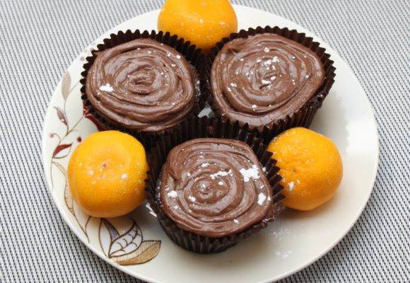 My Gluten and Dairy Free Chocolate Orange Cupcake Recipe