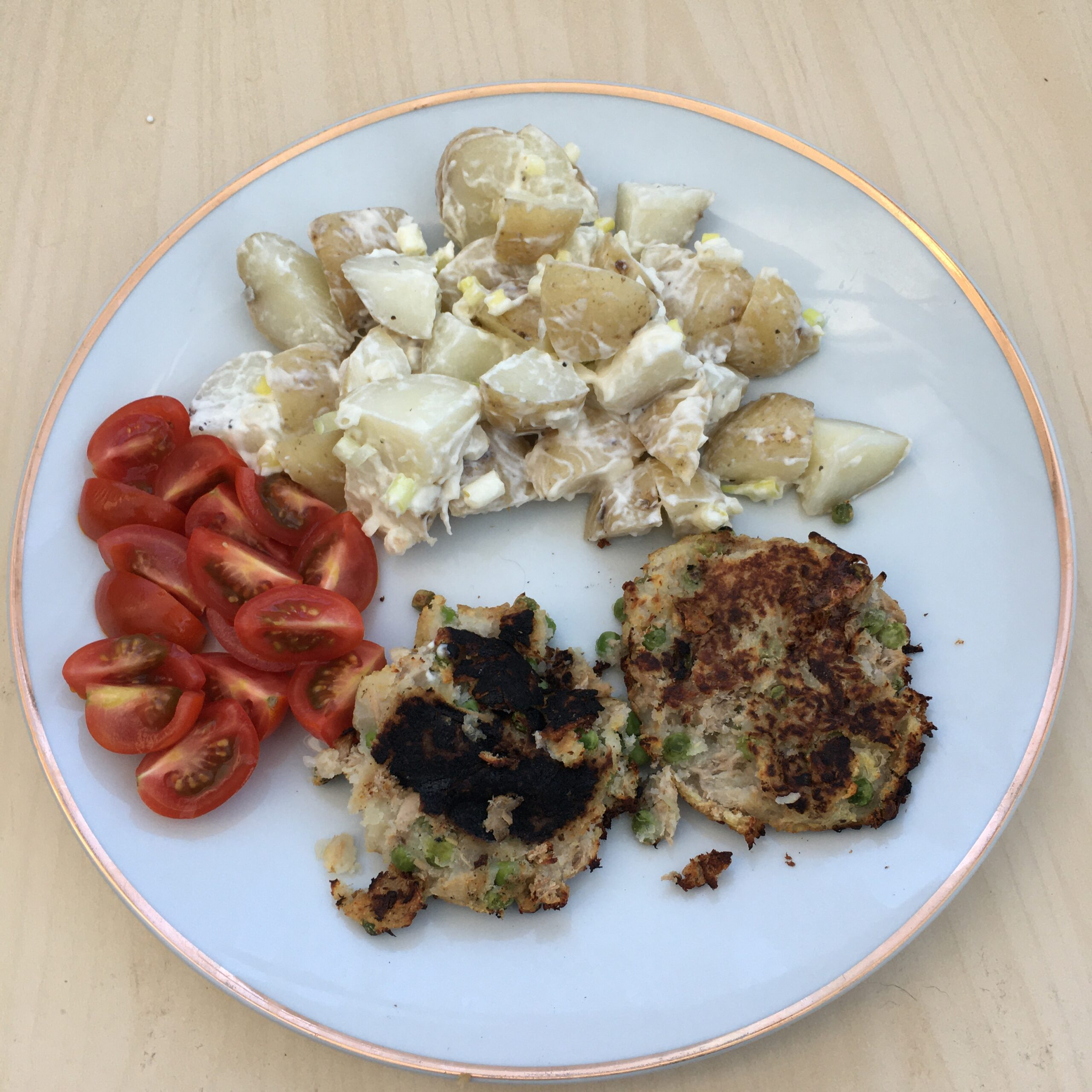 My Gluten and Dairy Free Easy Fishcake Recipe